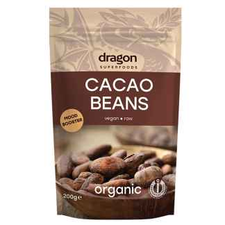 Bio Boabe de Cacao Raw Dragon Superfoods 200 g