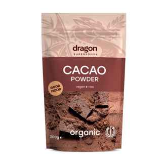 Cacao Pudra Raw Bio Dragon Superfoods 200 g