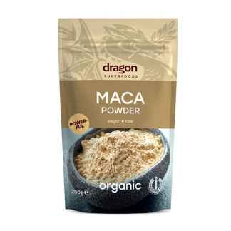 Bio Maca Pulbere Raw Dragon Superfoods 200 g