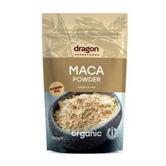 Bio Maca Pulbere Raw Dragon Superfoods 200 g