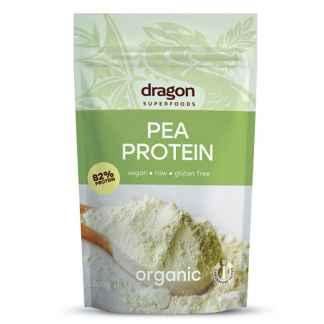 Bio Pudra Proteica din Mazare Dragon Superfoods 200 g
