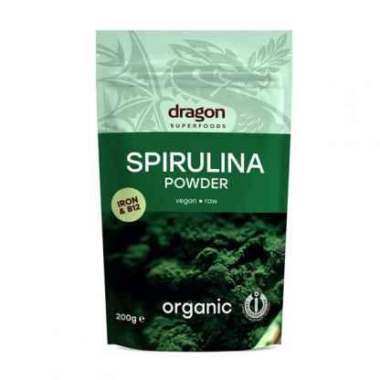 Spirulina Pulbere Bio Dragon Superfoods 200 g