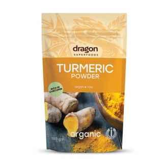 Pudra de Turmeric (Curcuma) Bio Dragon Superfoods 150 g
