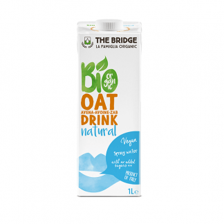 Bautura de Ovaz Natural Bio The Bridge 1 l