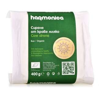 Branza Bio de Vaca Vidata Harmonica 400 g