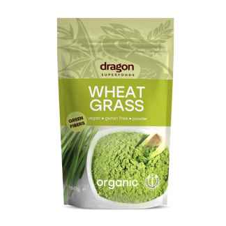 Iarba de Grau Pulbere Bio Dragon Superfoods 150 g
