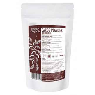 Bio Pudra de Carob (Roscove) Raw Dragon SuperFoods 200 g