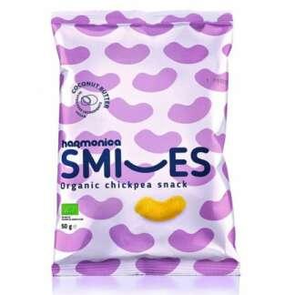 Bio Pufuleti cu Unt de Cocos Smiles Harmonica 50 g