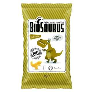 Bio Snacks de Porumb cu Branza Gluten Free Biosaurus 50 g