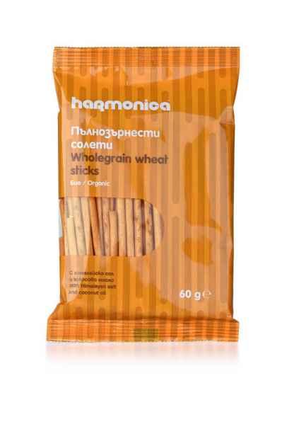 Sticksuri din Faina Integrala de Grau Bio Harmonica 60 g