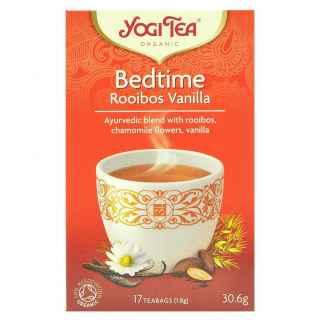 Ceai ayurvedic cu Rooibos, Musetel si Vanilie Bio Bedtime Yogi Tea 30,6 g