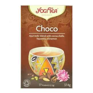 Bio Ceai ayurvedic cu Cacao si Scortisoara Choco Yogi Tea 34 g