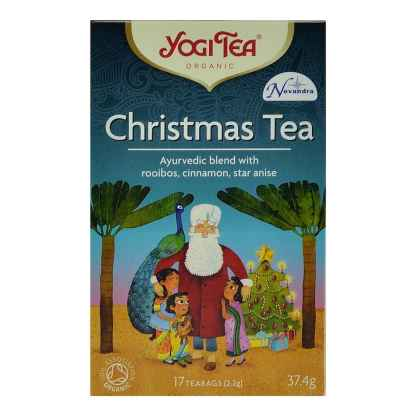 Bio Ceai ayurvedic pentru Craciun cu Rooibos Scortisoara si Anason Yogi Tea Christmas Tea 37,4 g