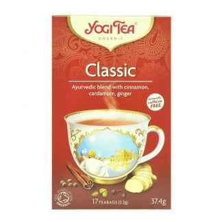 Bio Yogi Tea Classic Ceai ayurvedic clasic cu Scortisoara,Cardamom si Ghimbir 37,4 g