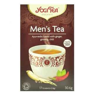 Bio Yogi Tea Men's Tea Ceai ayurvedic cu Ghimbir,Gingseng si Chili 30,6 g