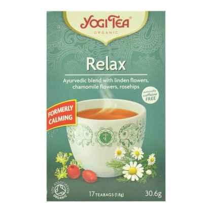 Bio Yogi Tea Relax Ceai Calmant cu Flori de Tei si Musetel 30,6 g