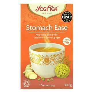 Bio Yogi Tea Stomach Ease Ceai ayurvedic Digestie Usoara cu Cardamom, Fenicul si Ghimbir 30,6 g
