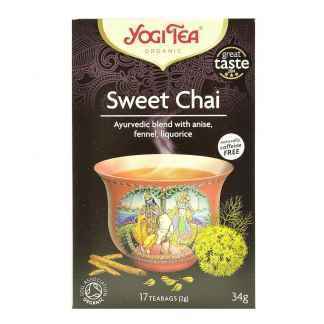 Bio Yogi Tea Ceai ayurvedic cu Anason, Fenicul si Lemn Dulce 30,6 g
