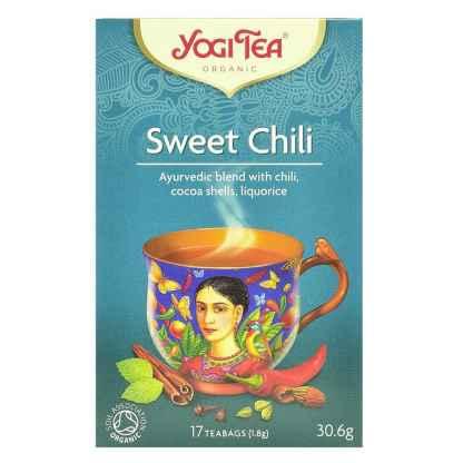 Ceai ayurvedic cu Ardei Iute, Cacao si Lemn Dulce Bio Yogi Tea 30,6 g