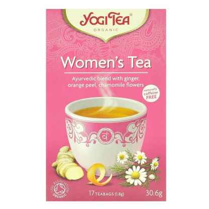 Bio Yogi Tea Woman's Tea Ceai ayurvedic cu Ghimbir, Coaja de Portocala si Musetel 30,6 g