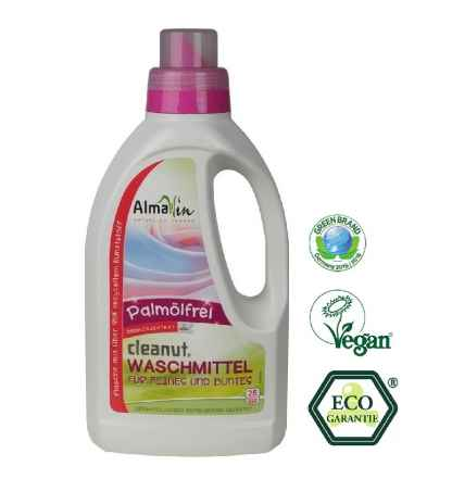 AlmaWin Detergent Lichid Fara Ulei de Palmier Eco 25 spalari 750 ml