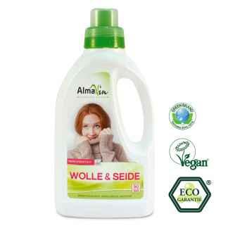 Detergent Lichid pentru Lana, Matase Eco 50 spalari AlmaWin 750 ml