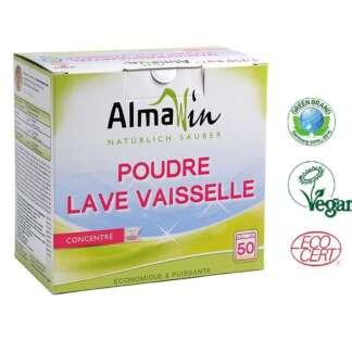 Eco Detergent Pudra pentru Masina de Spalat Vase 50 spalari AlmaWin 1,250 kg
