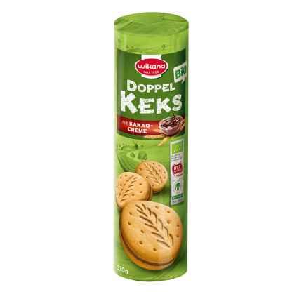 Bio Biscuiti cu Crema de Cacao Wikana 330 g