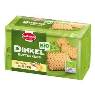 Bio Biscuiti din Spelta cu Unt Wikana 200 g