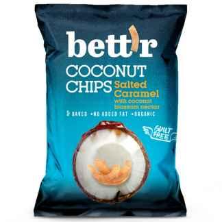 Bio Chips de Cocos cu Caramel Sarat Bett'r 70 g