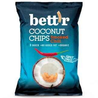 Bio Chips de Cocos cu Chilli Bett'r 70 g