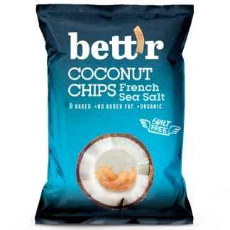 Bio Chips de Cocos cu Sare de Mare Franceza Bett'r 70 g