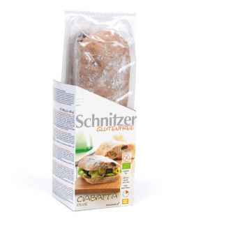 Bio Ciabatta cu Masline Fara Gluten Schnitzer 360 g