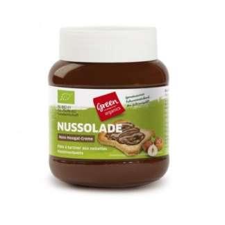 Bio Crema de Ciocolata Tartinabila cu Nuci Green Organics 400 g