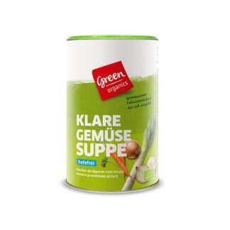 Bio Supa de Legume Uscate Green Organics 270 g