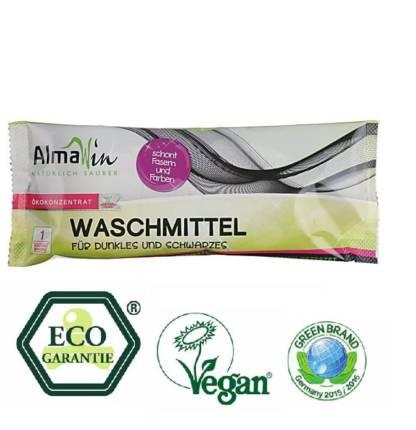 Detergent Lichid Eco Dark & Black 1 spalare AlmaWin 45 ml