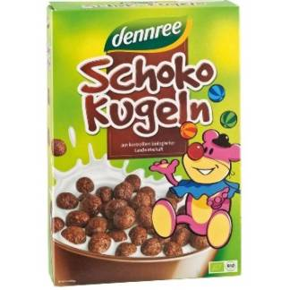 Bio Cereale Bilute cu Ciocolata Dennree 250 g