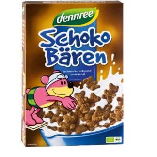 Bio Cereale Ursuleti cu Ciocolata Dennree 250 g