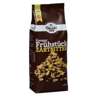Bio Musli Crocant cu Ciocolata Neagra Fara Gluten Bauck Hof 300 g
