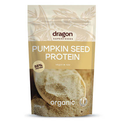 Pudra Proteica din Seminte de Dovleac Bio Raw Dragon Superfoods 200 g