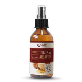 Bio Ulei de Argan 100% Pur Wooden Spoon 30 ml