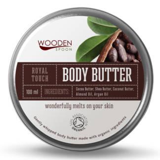 Bio Unt Pentru Corp cu Cacao Royal Touch Wooden Spoon 100 ml