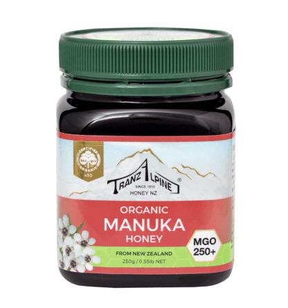 Bio Miere de Manuka MGO 250+ TranzAlpine 250 g