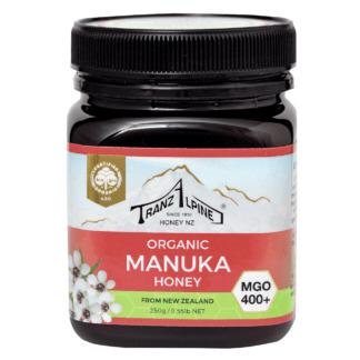 Miere de Manuka MGO 400+ Bio TranzAlpine 250 g