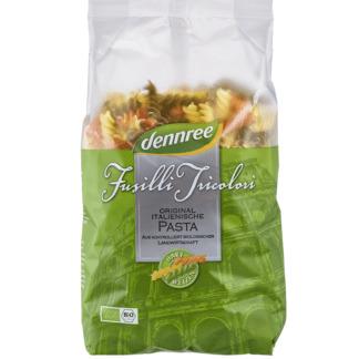 Bio Paste Fusilli Tricolore Dennree 500 g