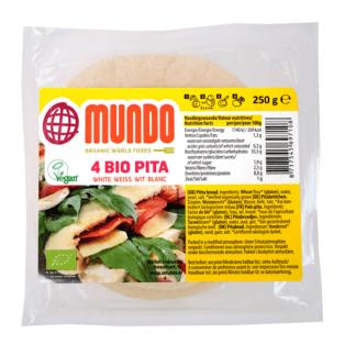 Bio Pita Alba O Mundo 4 buc 250 g