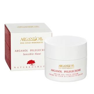 Crema Pentru Fata Naturala cu Ulei de Argan Argand'or 50 ml