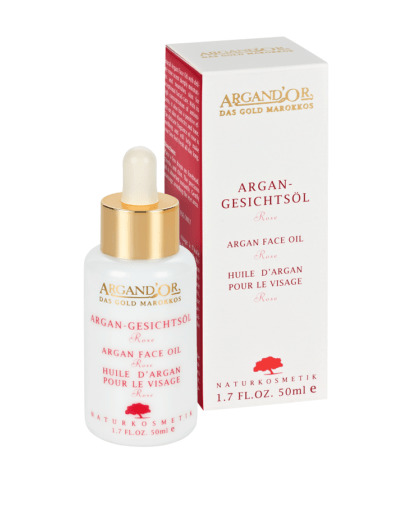 Ulei de Argan cu Trandafir pentru Fata Vegan Argand'or 50 ml