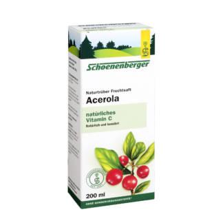 Bio Suc de Acerola Schoenberger 200 ml