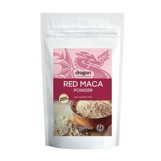 Pudra Bio Raw Vegan de Maca Rosie Dragon Superfoods 100 g